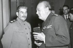 Сталин и Черчилль