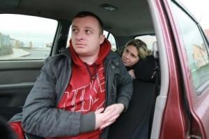 Шейн и Сиара Двайер более трех недель живут в своем автомобиле