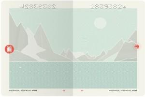 Новый дизайн норвежского паспорта