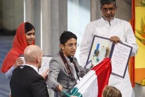Кортес Салас прерывает церемонию вручения Нобелевской премии мира