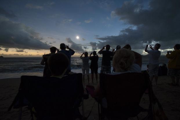 Солнечное затмение в Авcтралии, 2012 год
