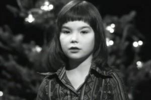 Кадр из видео Björk/Bapsi - Reads Nativity Story @ Children's Music School, Reykjavík, Iceland, (1976)
