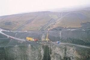 Строительство ГЭС Kárahnjúkavirkjun на востоке Исландии