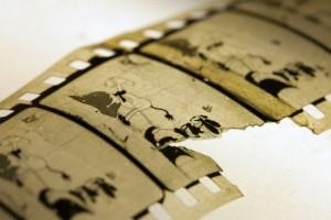 Фрагмент найденной пленки мультфильма «Empty Socks»
