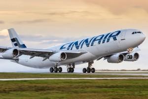 Самолет авиакомпании Finnair