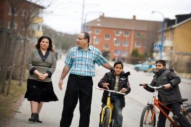 Шведская семья иммигрантов