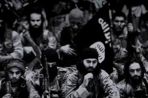 Кадр из видео «Пламы войны», снятое предположительно членами ИГИЛ