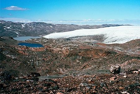 Месторождение с залежами железной руды Isukasia
