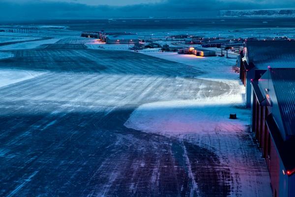 Американская авиабаза Туле в Гренландии