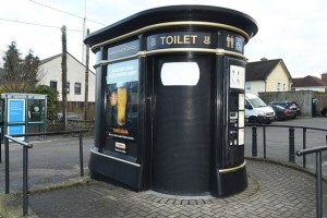 Общественный туалет в Ньюбридже
