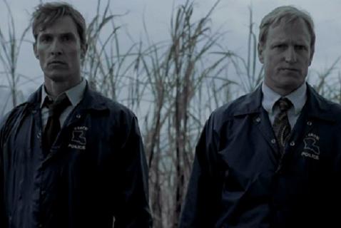 Кадр из первого сезона «Настоящего детектива»