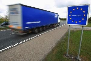 На границе с Данией