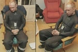 Андерс Брейвик после своего ареста