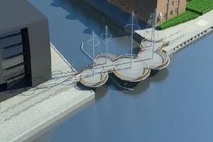 Проект моста Cirkelbroen