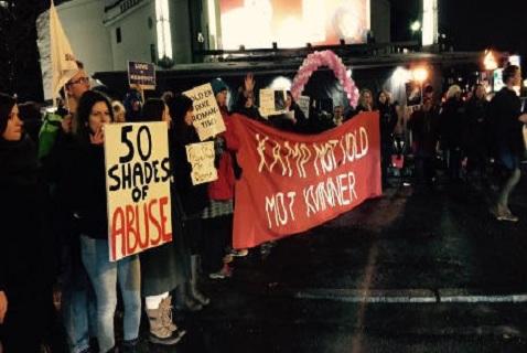 Демонстрация феминисток