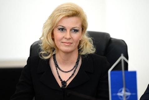 Первая женщина-президент Хорватии Колинда Грабар-Китарович