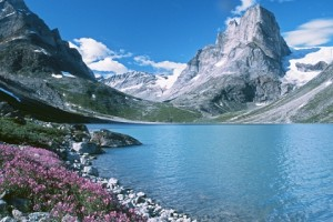 Озеро в Гренландии