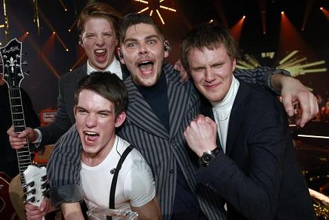 Anti Social Media после победы на датском отборочном этапе Евровидения 2015