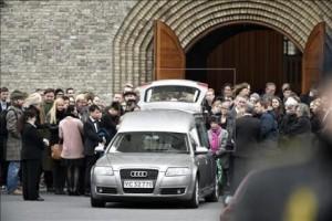 Похороны Финна Норгаарда