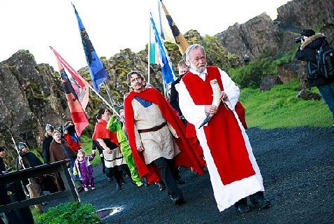 Исландские неоязычники