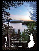 Национальный парк Линнансаари — лучшая почтовая марка Финляндии 2014 года