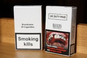 Новая упаковка сигарет, рассматриваемая к принятию в Великобритании