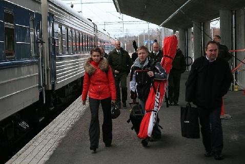 Русские туристы в Финляндии