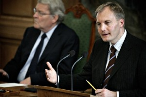 Пресс-секретарь Датской народной партии, Питер Скааруп