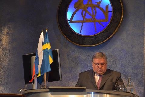 Посол России в Швеции Виктор Татаринцев