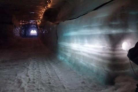 Строящийся тоннель