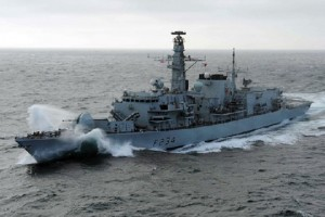 Фрегат Королевского флота HMS Iron Duke