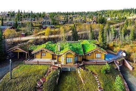 Дом Шумахера в Норвегии