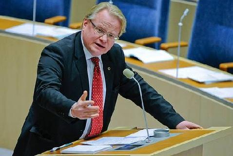 Министр обороны Швеции Питер Халтквист