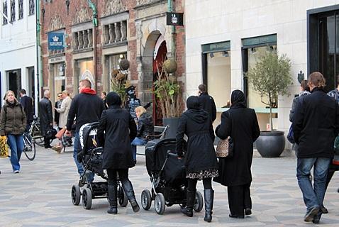 Мусульманские женщины в Копенгагене