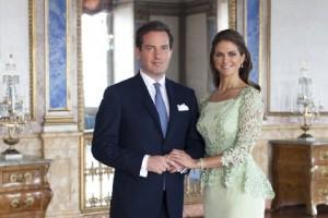 Принцесса Мадлен и ее муж Крис О'Нил