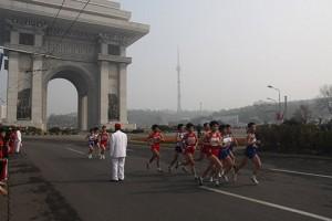 Марафон в Пхеньяне 2014