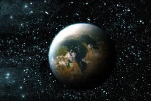 Компьютерная модель обитаемой планеты