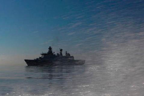 Датский военный корабль «Эсберн Малый»