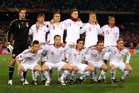 Сборная Дании на Евро-2012