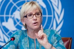 Министр иностранных дел Швеции Марго Вальстрем