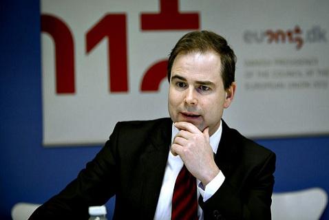 Министр обороны Дании Николай Ваммен