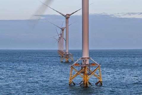 Ветряная ферма Vattenfall в Великобритании