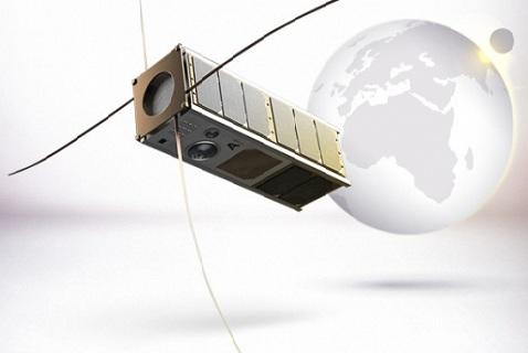 Компьютерная модель финского космического спутника Aalto-1