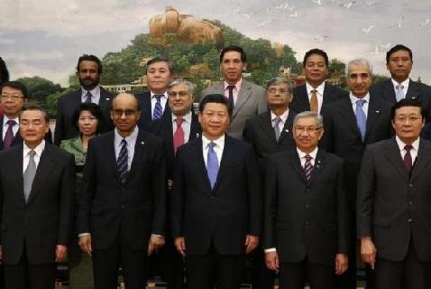 Президент КНР Си Цзиньпин на церемонии основания АБИИ