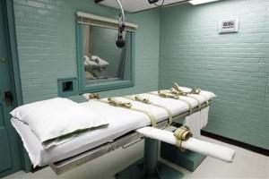 Камера для смертельных инъекций в Хантсвилле, штат Техас