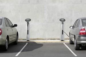 Зарядные устройства для электрических автомобилей (фото: inhabitat.com)