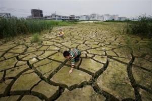 Заброшенное поле в провинции Гуандун