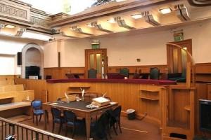 Одно из помещений британского суда