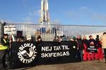 Гринпис протестует против добычи сланцевого газа в Дании