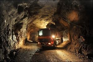 Добыча золота на руднике Киттила